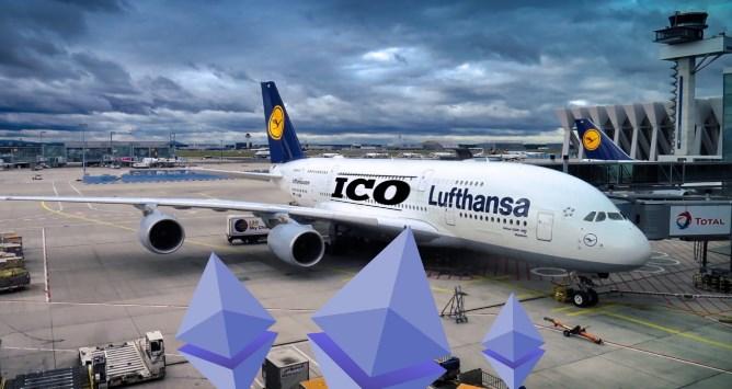 Lufthansa запускает  ICO