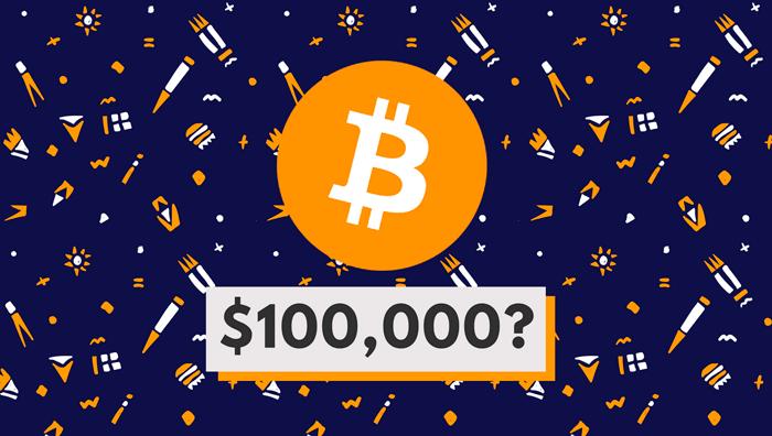 Три причины, почему цена биткойна будет выше  $ 100 000